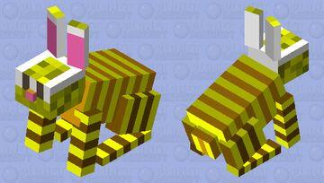 honey Bunny Minecraft Mob Skin