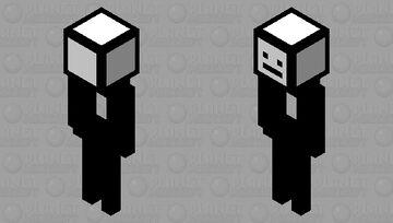 A Stickman With A Bow Minecraft Mob Skin