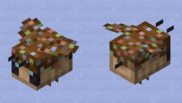 Chocolate Bee Minecraft Mob Skin