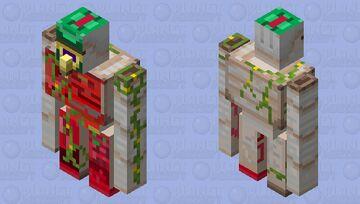 response to nova army Minecraft Mob Skin