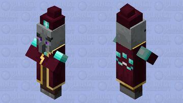 The Enchanter Illager Minecraft Mob Skin