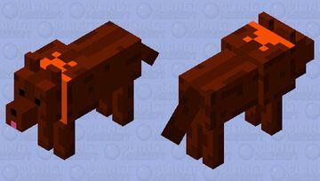Boney wolf skin-Mother 3 Minecraft Mob Skin