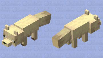 Fennec (Dessert fox) Minecraft Mob Skin