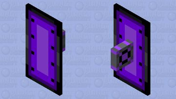 Corrupted Shield Minecraft Mob Skin