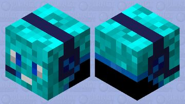 Oh no my head is jumping away Minecraft Mob Skin