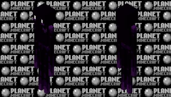 an enderman Minecraft Skin