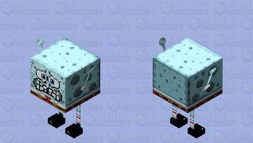 Spongebob Stridepants (Cold) Minecraft Mob Skin