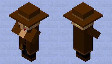 Old West Villager Minecraft Mob Skin