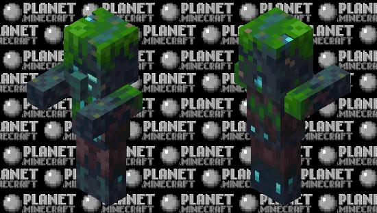 Dark Drowned Villager / Minecraft Dungeons Minecraft Skin