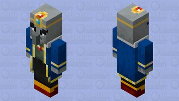 Arch-illager / grown or normal / from Minecraft Dungeons Minecraft Mob Skin