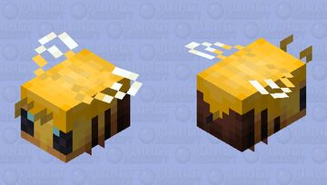 Honey covered bee Minecraft Mob Skin