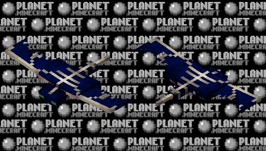 Dark phantom Minecraft Skin