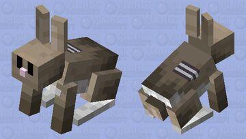 ded rabbit Minecraft Mob Skin