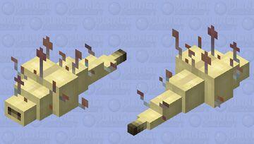 Cordyceps maggot Minecraft Mob Skin