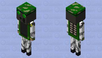 H.E.C.U. Marine Minecraft Mob Skin