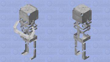 Village_Skeleton/remade/neutral Minecraft Mob Skin