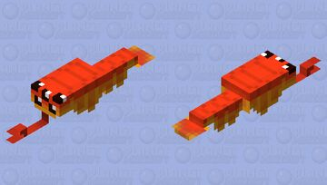 Opabinia (Cambrian) Minecraft Mob Skin