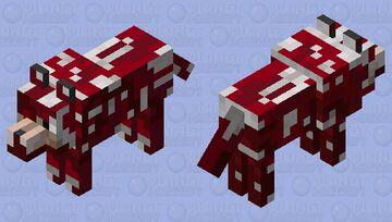 Really Bloody Dogo Minecraft Mob Skin