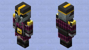 Minecraft Dungeons:Armored Pillager Minecraft Mob Skin