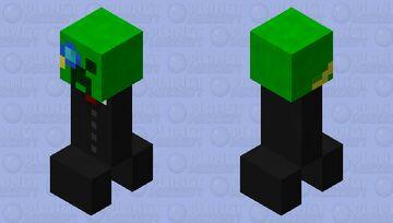 intelligent creeper Minecraft Mob Skin