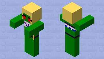Zombie Amely Minecraft Mob Skin