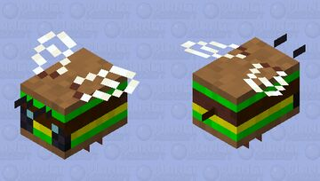 flying burger Minecraft Mob Skin