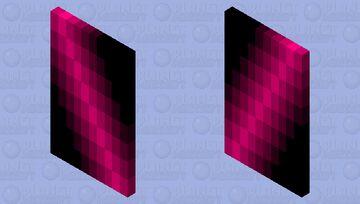 Red-Pink Slash Minecraft Mob Skin
