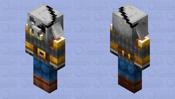 General Hog-shank of the Illager Armies Minecraft Mob Skin