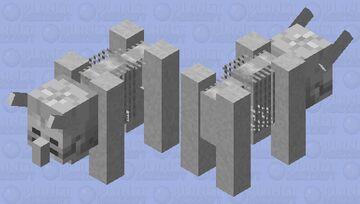 Skeleton ravager Minecraft Mob Skin