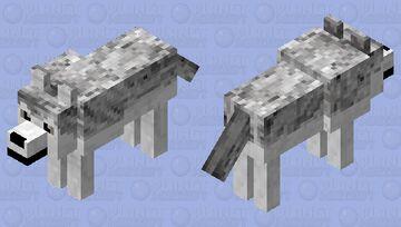 Wolf 15 Minecraft Mob Skin