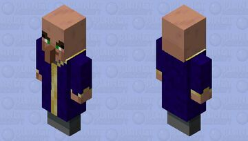 When Ronnie MCDee's Mage Guard become Illager Minecraft Mob Skin