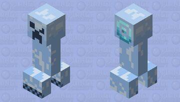Freezing Creeper Minecraft Mob Skin