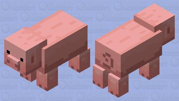"""animal that goes """"oink"""" Minecraft Mob Skin"""