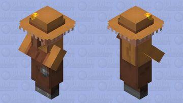 Beekeeper Villager Minecraft Mob Skin