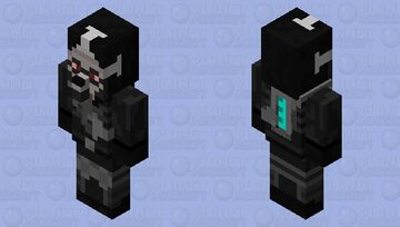 Unitologist Soldier (Dead Space) Minecraft Mob Skin