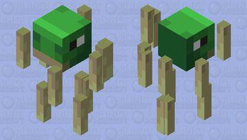 Turtle Blaze (Biome Swap) Minecraft Mob Skin