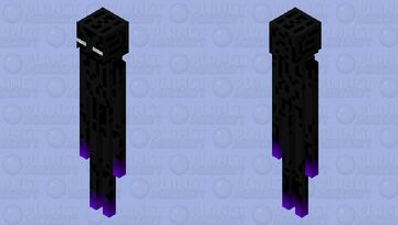 Magic Enderman Minecraft Mob Skin