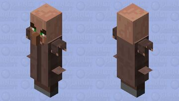 When Evil illager Get Arms Minecraft Mob Skin