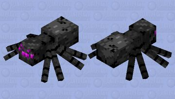 Alone 1244's mob shop:the Ender spider! ( suggested by Mooniium ) Minecraft Mob Skin