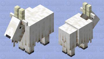 Light Goat Horns Minecraft Mob Skin