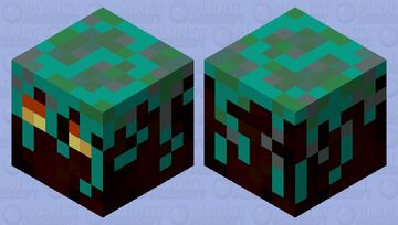 Small Nylium Magma Cube (Biome Swap Entry) Minecraft Mob Skin