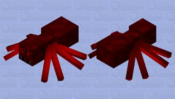 |Nether Spider|  {Contest Entry} Minecraft Mob Skin