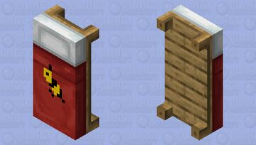 i was bored and wanted to create a bee model but clicked on bed, so here it is. Minecraft Mob Skin