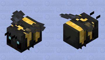American Bumblebee Minecraft Mob Skin