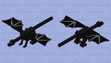 Maleficent Dragon Minecraft Mob Skin