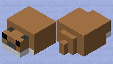 Cute Hamster Minecraft Mob Skin