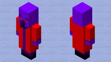 Void Evoker Minecraft Mob Skin