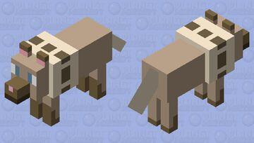 pokemon: rockruff Minecraft Mob Skin