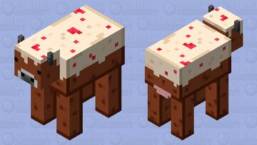 Food Collection - Cake Cow Minecraft Mob Skin