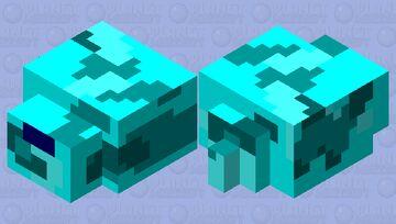 Frozen endermite Minecraft Mob Skin